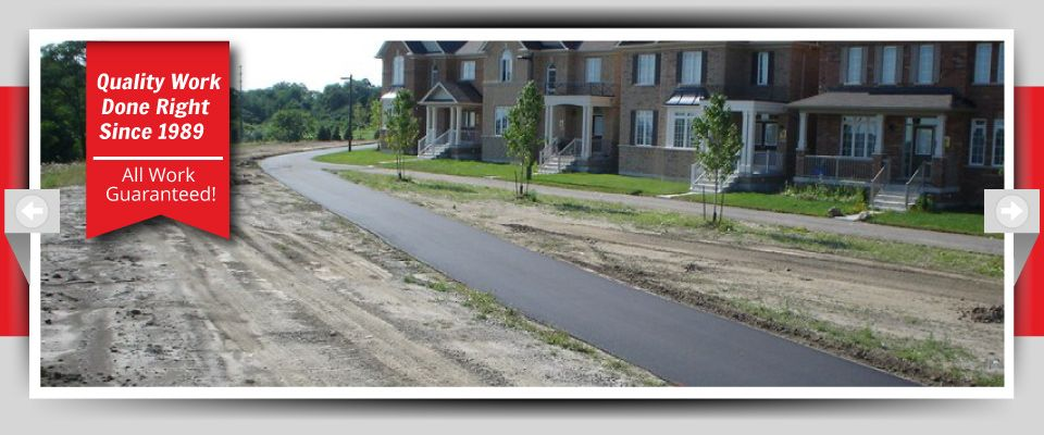 Quality Work Done Right Since 1989 - All Work Guaranteed! asphalt walkways
