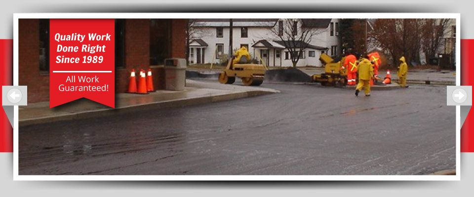 Quality Work Done Right Since 1989 - All Work Guaranteed! - public roadway construction