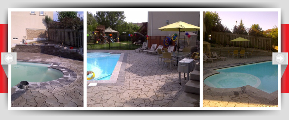 Feature Project Pic #5 - Decorative Pressed Concrete Patios