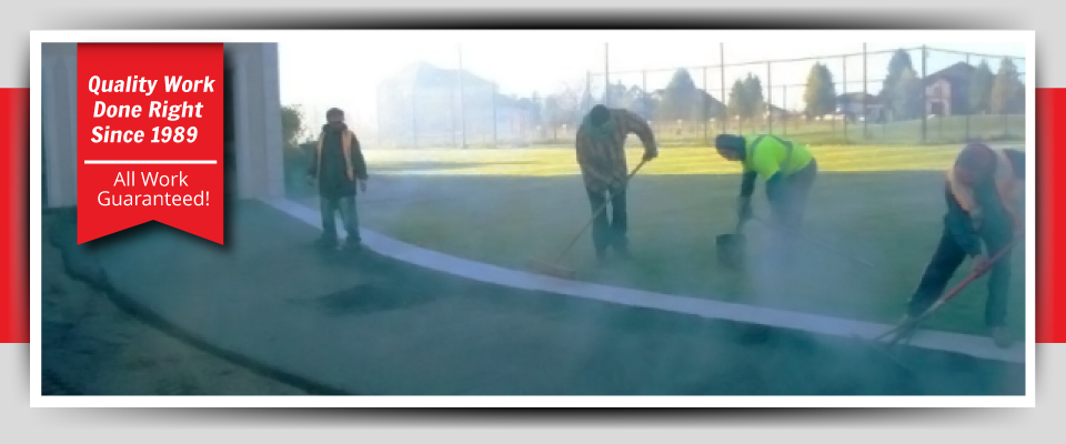 Asphalt Paving Quality Work Done Right Since 1989 - All Work Guaranteed!