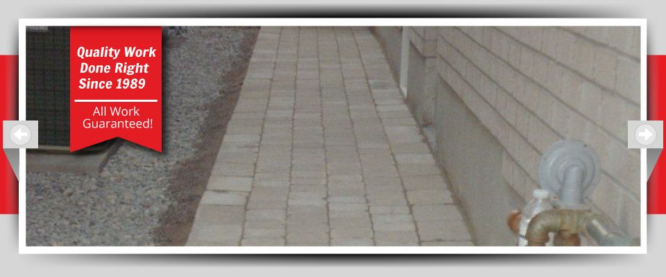 Quality Work Done Right Since 1989 - All Work Guaranteed! - Interlocking Stone 2