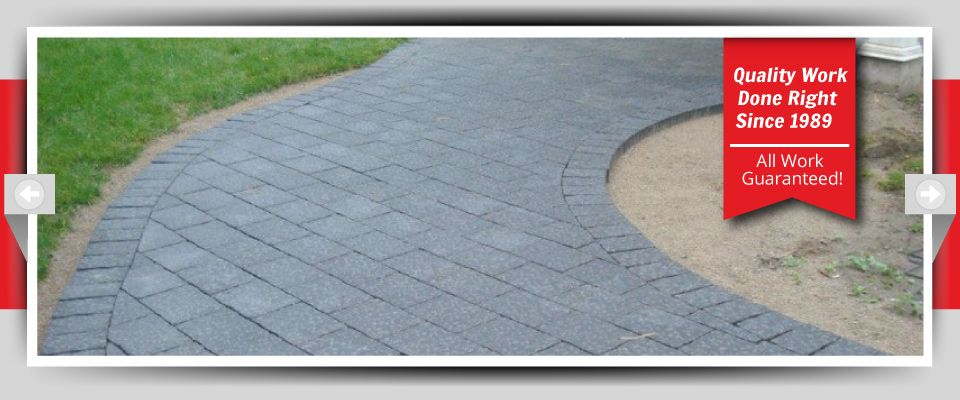 Quality Work Done Right Since 1989 - All Work Guaranteed! - Interlocking Stone Walkways