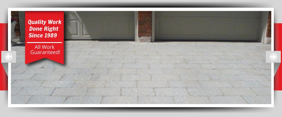Quality Work Done Right Since 1989 - All Work Guaranteed! - Stone Driveways