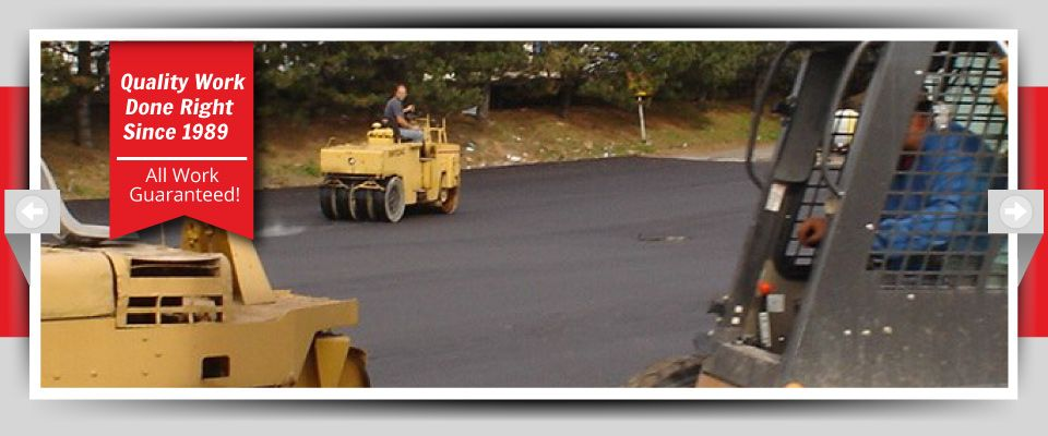 Quality Work Done Right Since 1989 - All Work Guaranteed! - Parking lot construction in progress