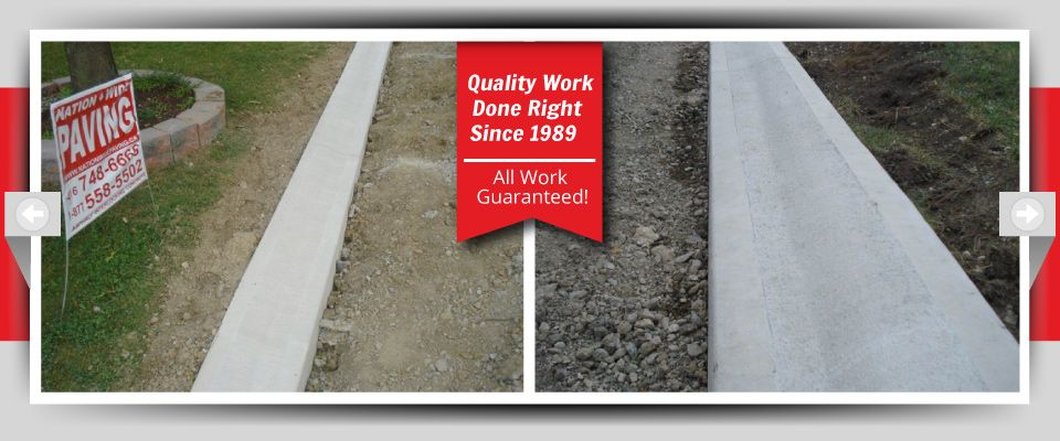 Quality Work Done Right Since 1989 - All Work Guaranteed! concrete borders