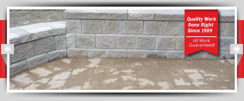 Quality Work Done Right Since 1989 - All Work Guaranteed! - Stone Barriers