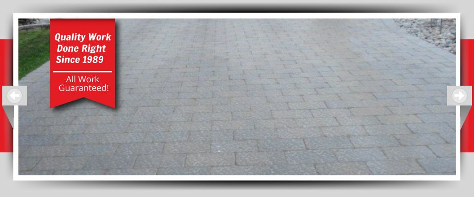 Quality Work Done Right Since 1989 - All Work Guaranteed! stone driveway