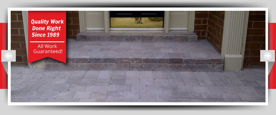 Quality Work Done Right Since 1989 - All Work Guaranteed! - Stone Porches