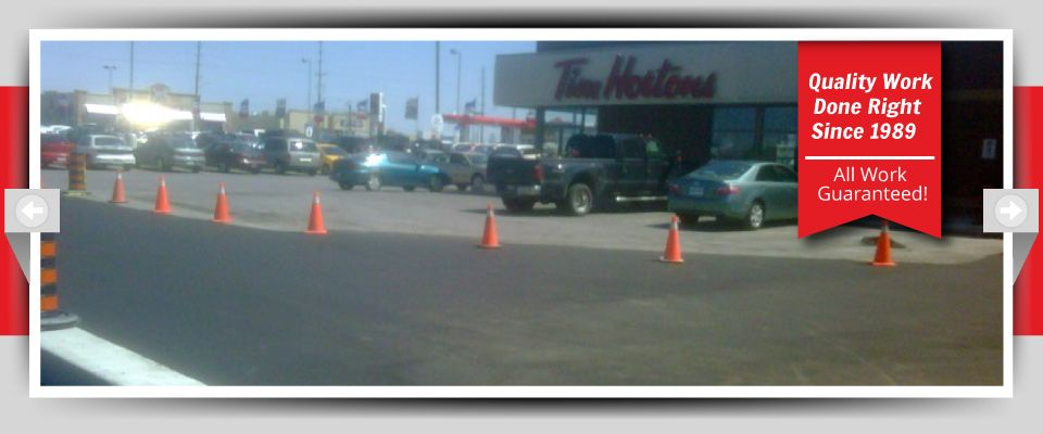 Quality Work Done Right Since 1989 - All Work Guaranteed! - Parking Lots