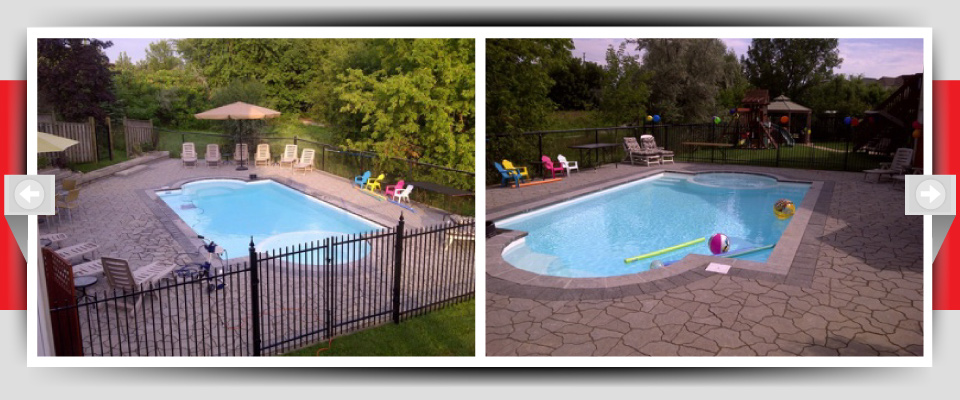 Feature Project Pic #1 - Pool & Patio Construction